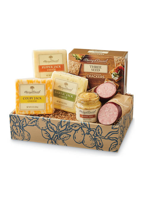 Deluxe Meat and Cheese Gift