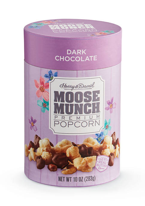 Moose Munch® Dark Chocolate Gourmet Popcorn, 10 Ounce