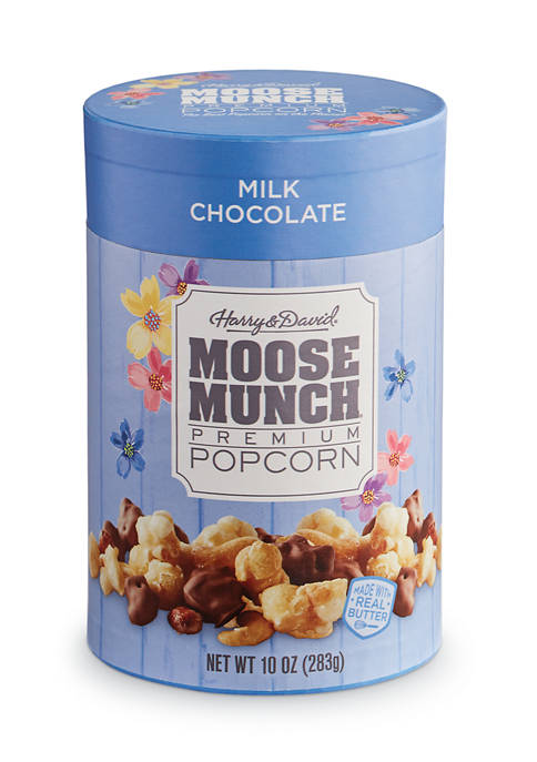 Moose Munch® Milk Chocolate Gourmet Popcorn, 10 Ounce