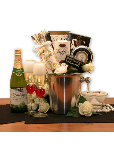GBDS Romantic Evening For Two Gift Basket