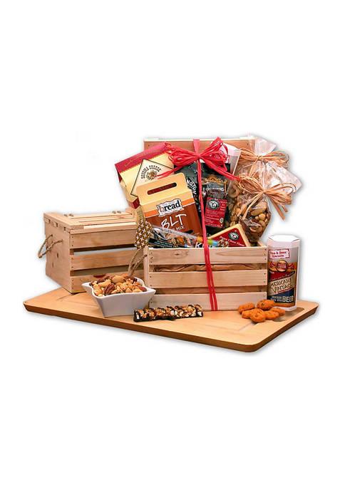 GBDS Premium Nuts & Snacks Crate