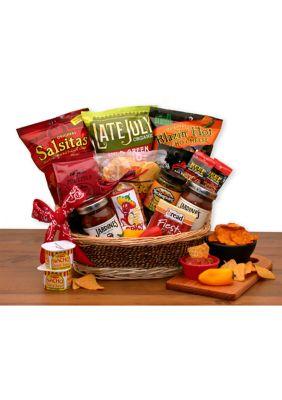 Gbds A Little Spice Gourmet Salsa Chips Gift Basket