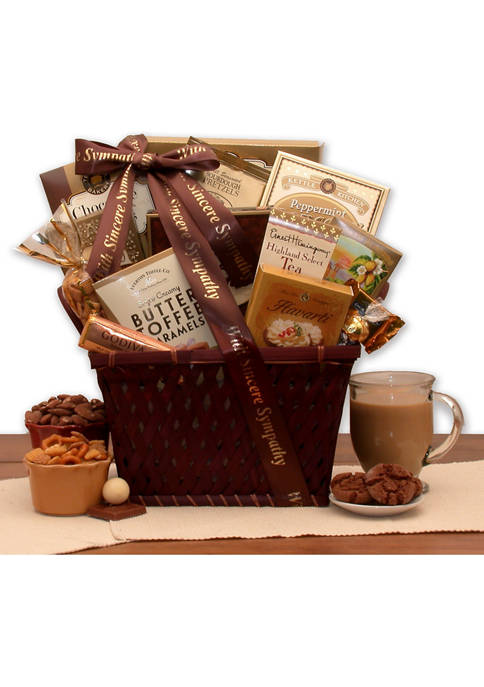 GBDS Sending Our Prayers Sympathy Gift Basket