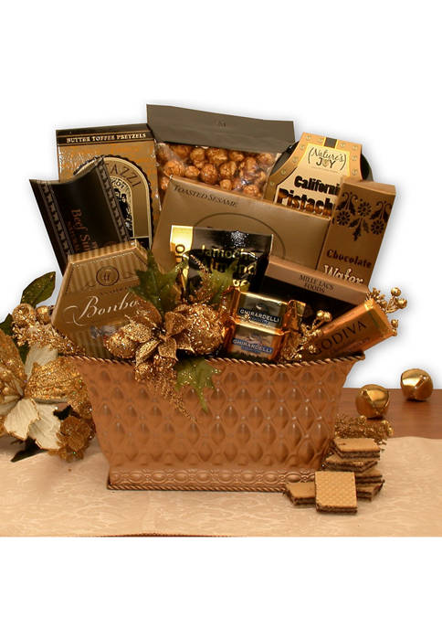 GBDS Golden Gatherings Holiday Gift Basket