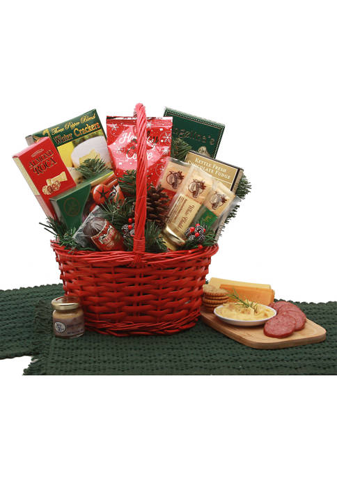 GBDS Holiday Snacker Gift Basket