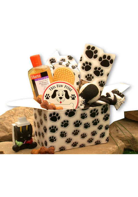 GBDS Paw Prints Doggie Care Package