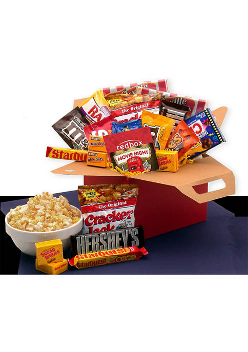 GBDS Blockbuster Night Movie Care Package with 10.00