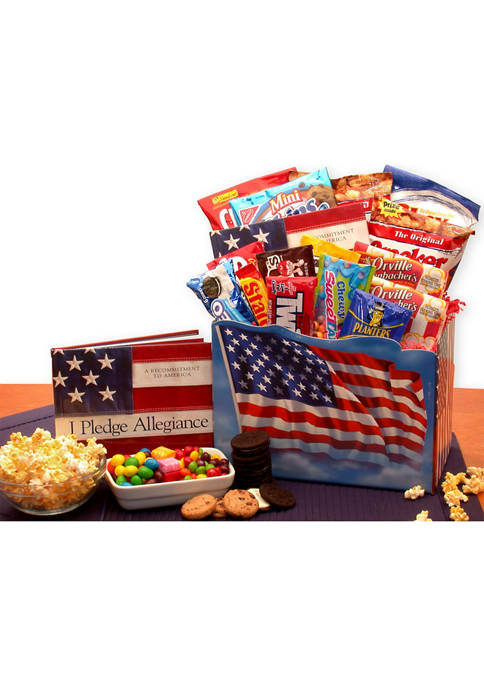 GBDS America The Beautiful Snack Gift Box