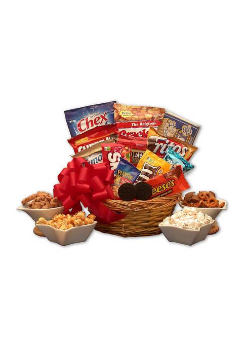 Snack Lovers Sampler Gift Basket