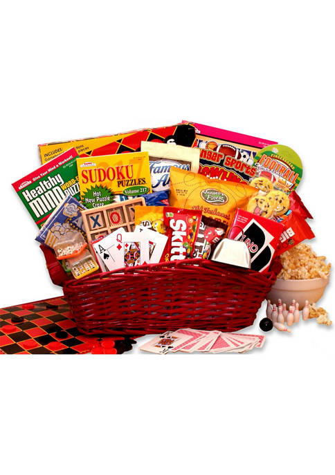 GBDS Fun & Games Gift Basket