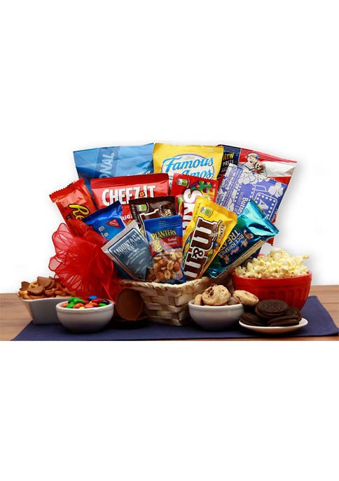 GBDS Favorite Snacks Gift Basket