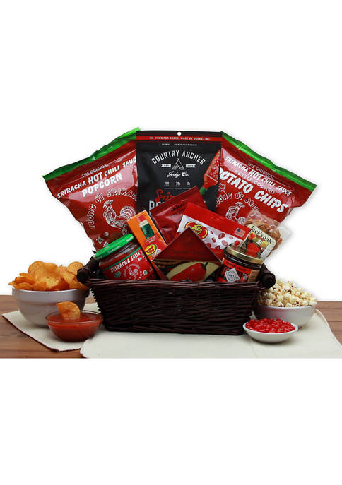 GBDS Hot & Spicy Sriracha Lovers Gift Basket
