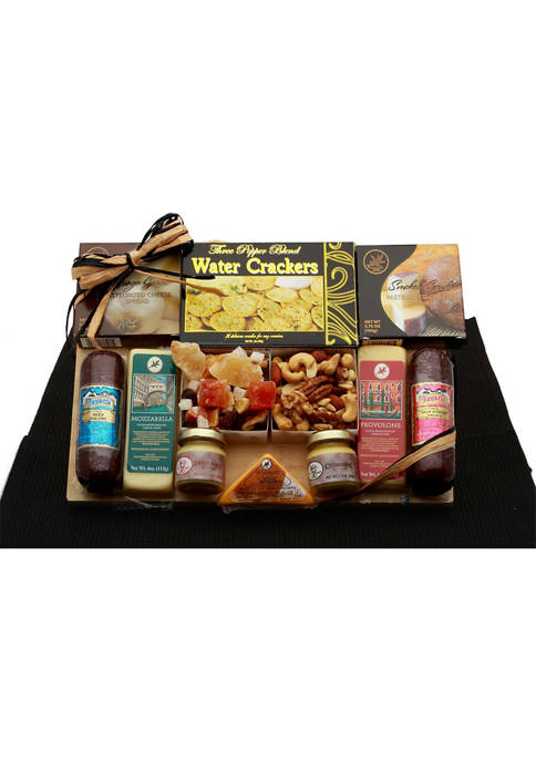 GBDS Savory Selections Meat & Cheese Gourmet Gift