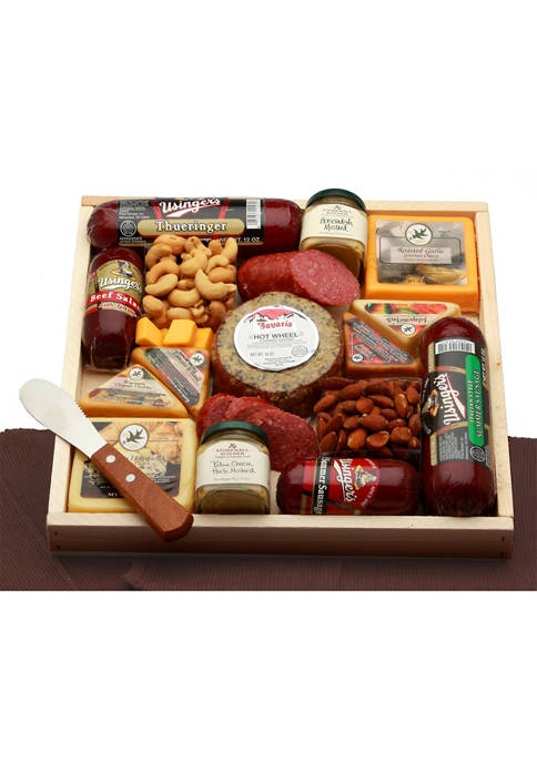 GBDS Deluxe Meat & Cheese Lovers Sampler Tray