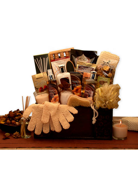 GBDS Caramel Spa Treasures Gift Chest