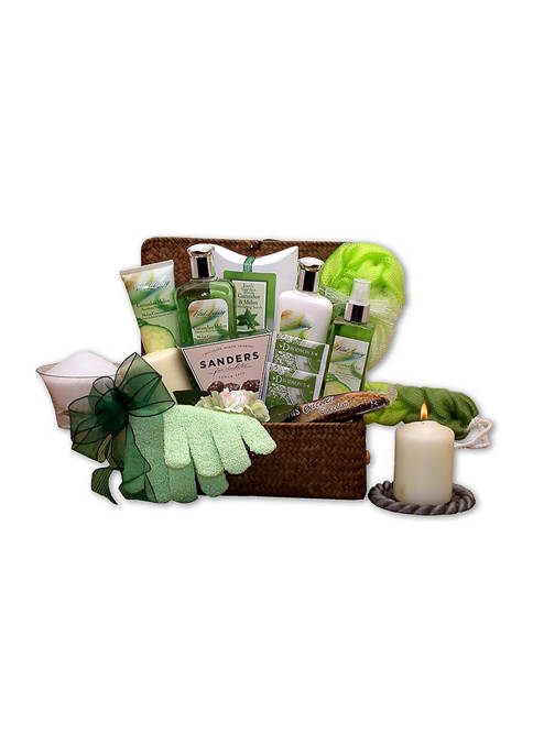 GBDS Serenity Spa Cucumber & Melon Gift Chest