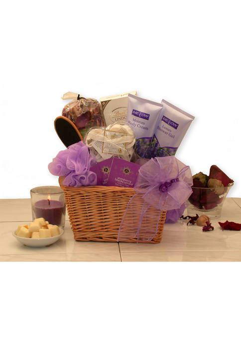 GBDS Lavender Relaxation Spa Gift Basket
