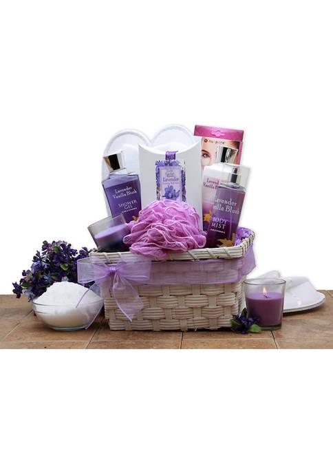 GBDS Lavender Spa Gift Basket