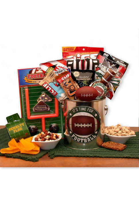 Its Football Time Gift Pail