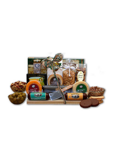 GBDS Ultimate Gourmet Nut & Sausage Board