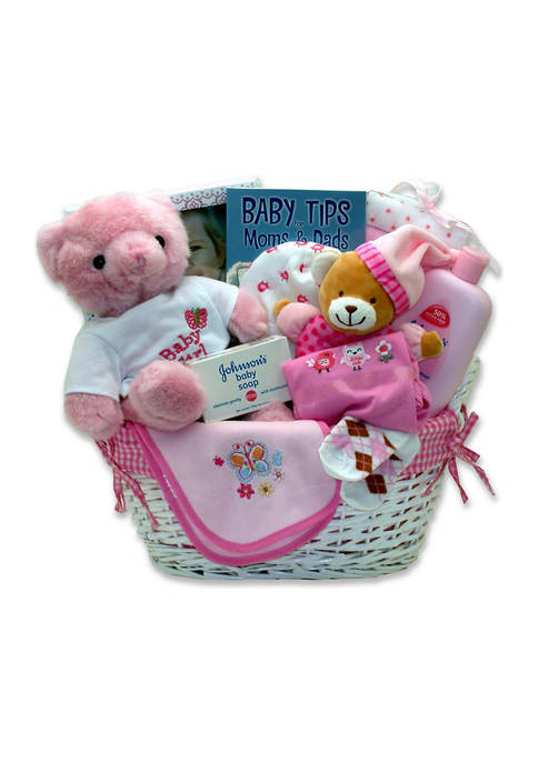 GBDS Sweet Baby of Mine New Baby Basket
