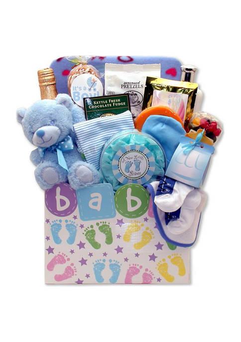 New Baby Celebration Gift Box - Blue
