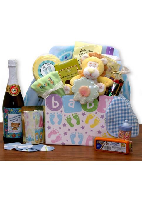 New Baby Celebration Gift Box - Yellow