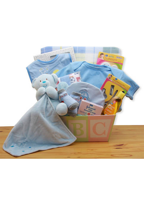 GBDS Easy as ABC New Baby Gift Basket