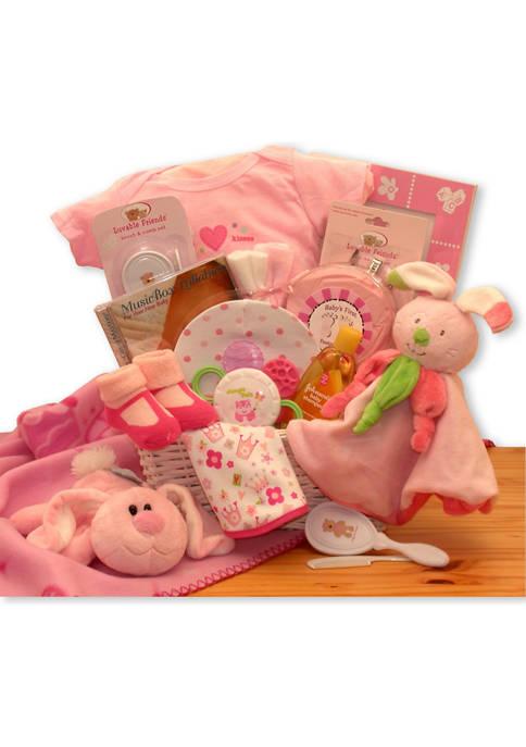 GBDS Hunny Bunnys New Baby Gift Basket