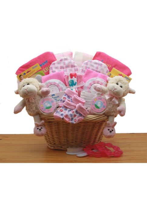 GBDS Double Delight Twins New Babies Gift Basket