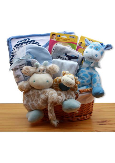 GBDS Jungle Safari New Baby Gift Basket