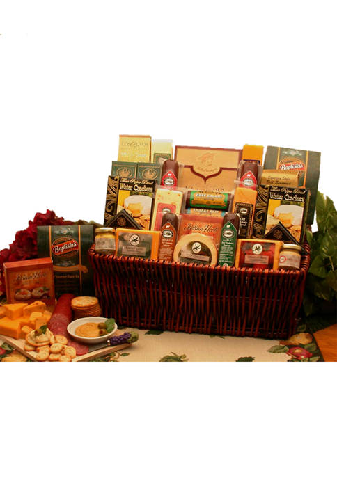 A Classic Selection Deluxe Meat & Cheese Gourmet
