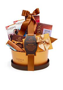 Godiva Signature Gift Basket Classic Ribbon