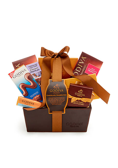 Godiva Classic Ribbon Chocolate Celebration Gift Basket