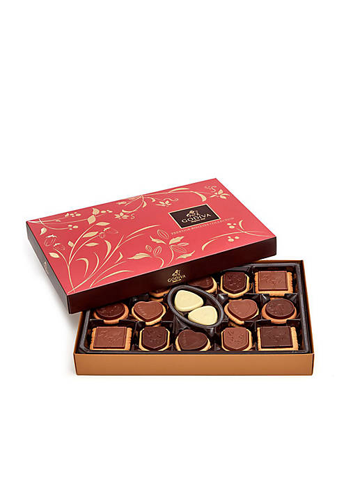 Godiva 32-Piece Medium Biscuit Assortment