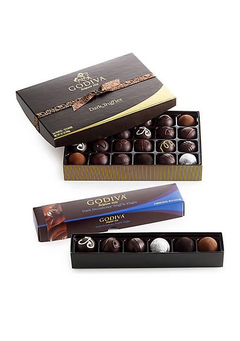Dark Chocolate Truffle Lovers Gift Set