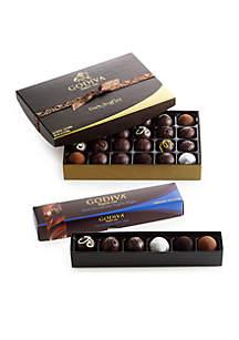 Godiva Dark Chocolate Truffle Lovers Gift Set