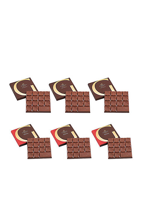 Godiva Chocolatier G Assorted Milk Chocolate Bar Tasting