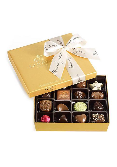 Godiva Chocolatier Assorted Chocolate Gold Gift Box
