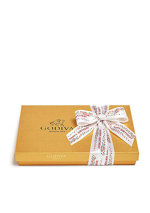 Assorted Chocolate Gift Box- Happy Birthday Ribbon, 36-Piece Set