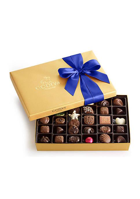 Chocolate Gift Box- Royal Ribbon, 36-Piece Set
