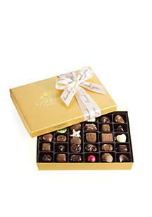 Godiva Chocolate Gift Box- Thank You Ribbon, 36-Piece Set