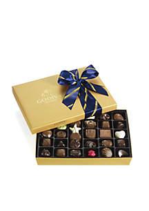 Godiva Chocolate Gift Box- Striped Tie, 36-Piece Set