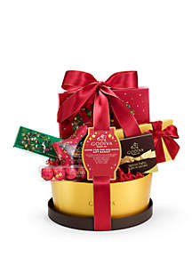 Chocolatier Home For The Holidays Gift Basket