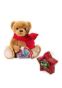 Chocolatier Holiday 2018 Limited Edition Plush Bear and Star Ornament