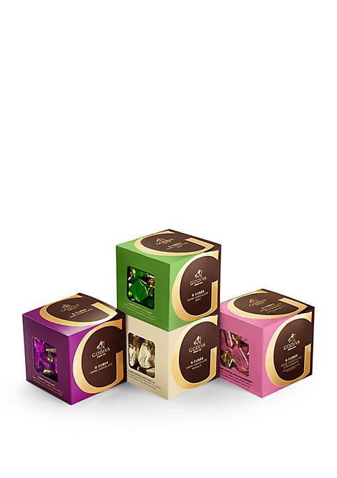 Godiva Chocolatier Dark Chocolate G Cube Sampler