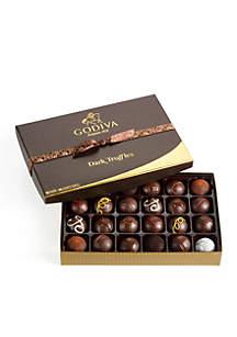 Godiva Dark Chocolate Truffles, 24-Piece Set