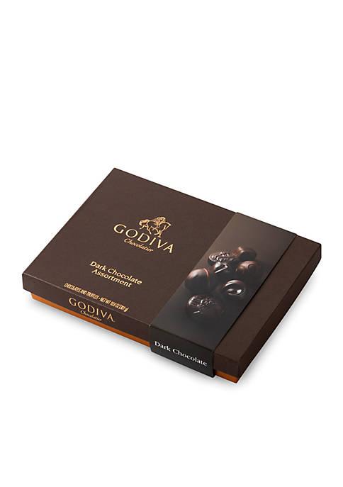 Godiva Dark Chocolate Gift Box, 27-Piece Set