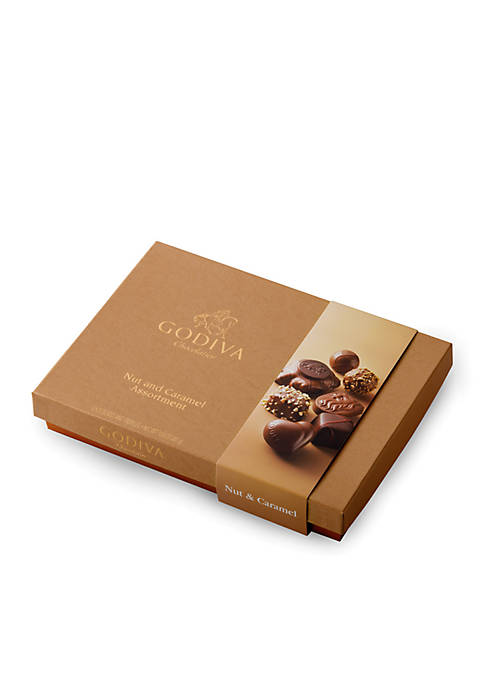 Godiva Nut And Caramel Assortment