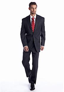 IZOD Black Stripe Suit